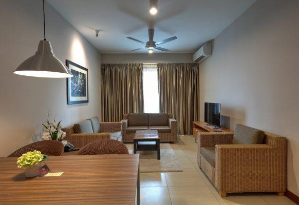 2 BR Deluxe – Living RoomL
